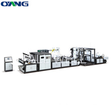 Online Handle Attached Non Woven Bag Making Machine, Non Woven Fabric Bag Manufacturer Making Machine
