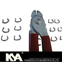 Alicates de anillo suelto para hacer colchones, asientos de coches, jaulas de mascotas