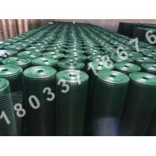 green coated pvc coated welded wire mesh
