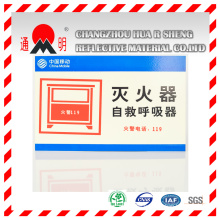 Pet Type Advertisement Grade Reflective Sheeting Material for Advertising Signs Warning Board (TM3100)