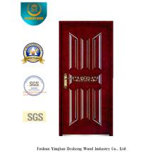 Sicherheits-Stahltür mit Carving für Außen (b-6009)