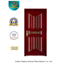 Security Steel Door with Carving for Exterior (b-6009)