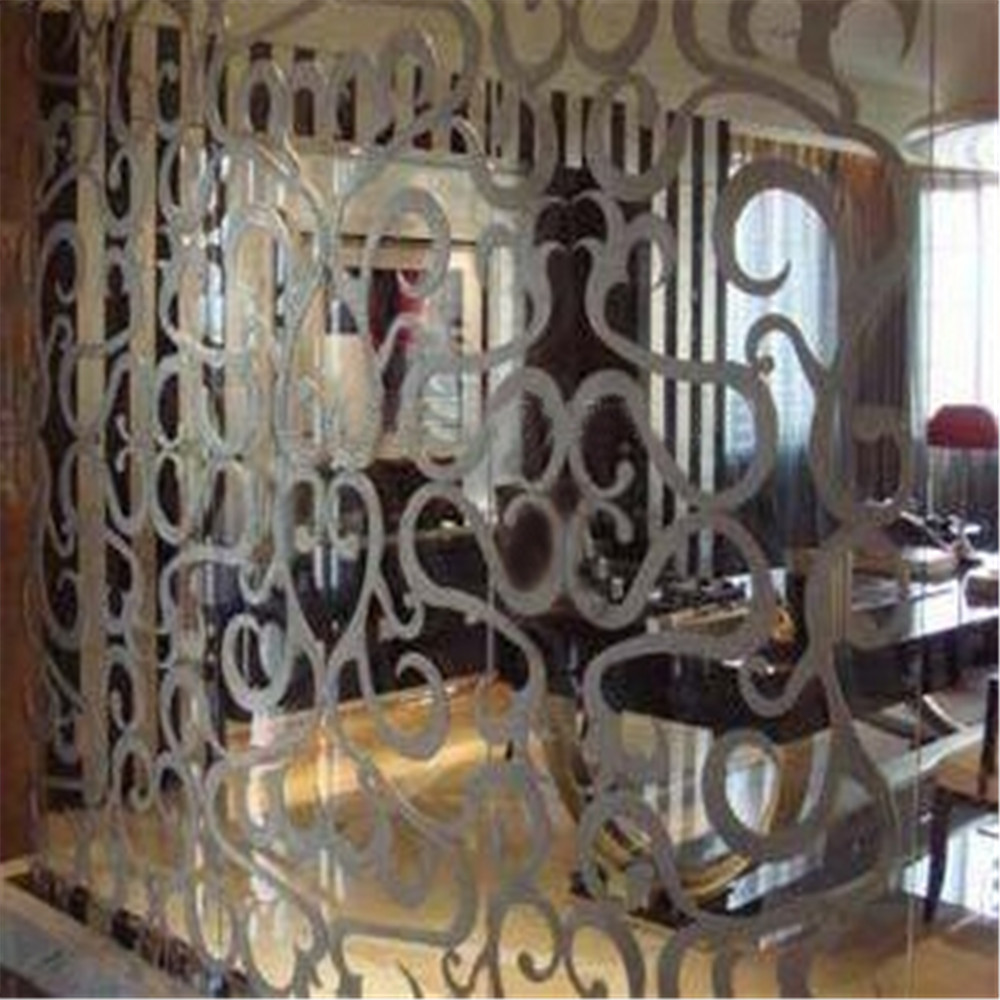 Outdoor Laser Cut Satinless Steel Screens