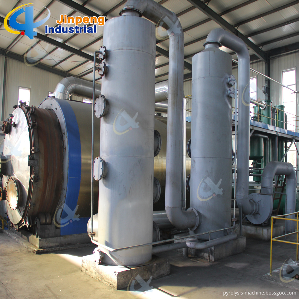 Waste Rubber Oil Refinery Equipment