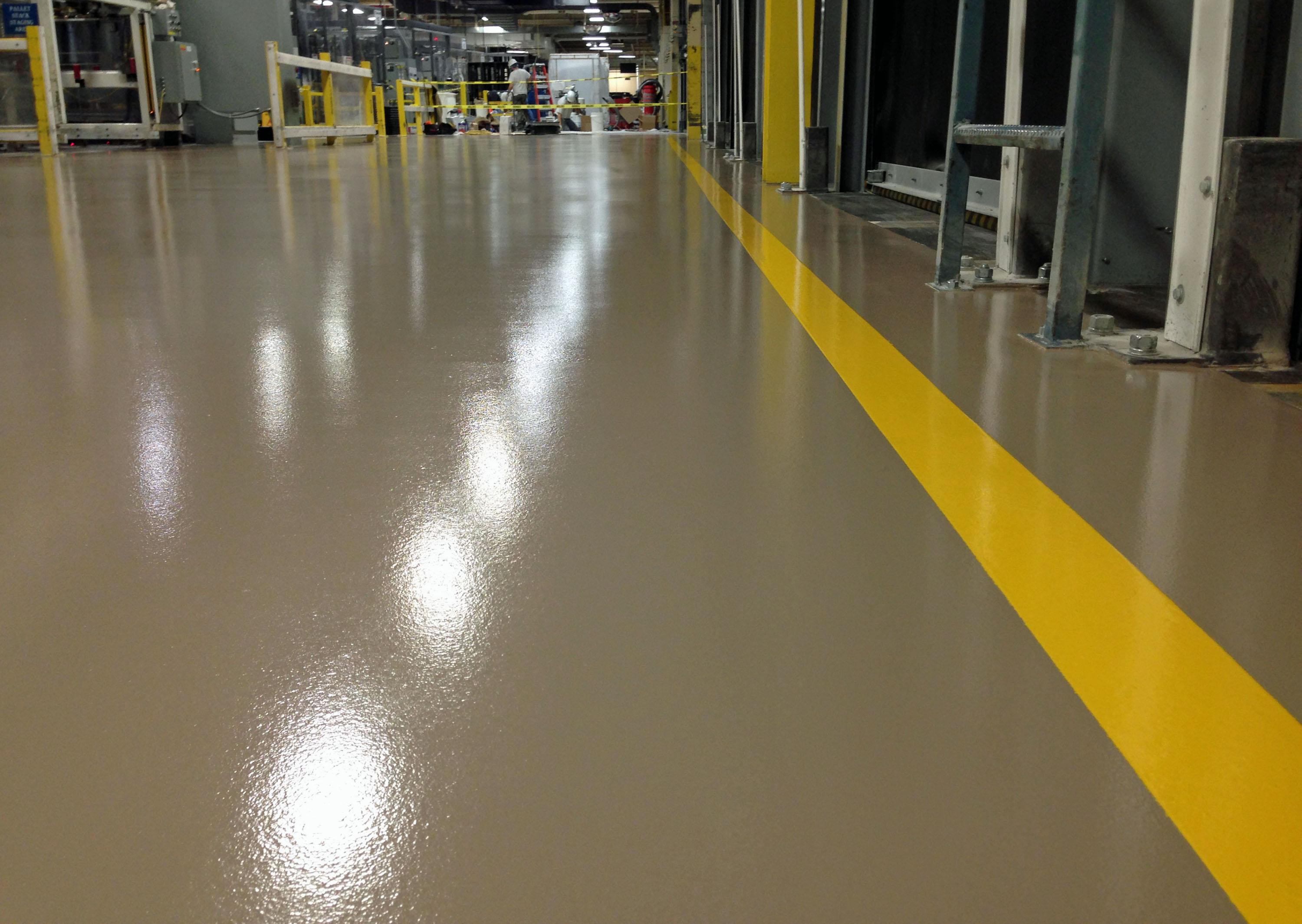 Epoxy Polyurethane Mortar Floor