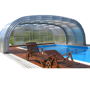Termisk teleskopisk kabinet Swimming Pool Cover