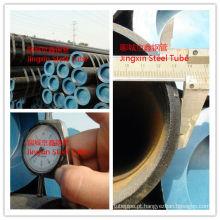 Tubo de aço sem costura En 10305 para redutor de choque de motocicleta
