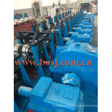 228.6mm Galvanized Scaffolding Steel Plank Roll Forming Production Machine Thailand