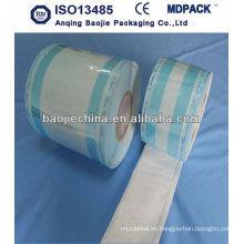 papel estéril estéril de plástico / bolsa de esterilización tyvek rollo