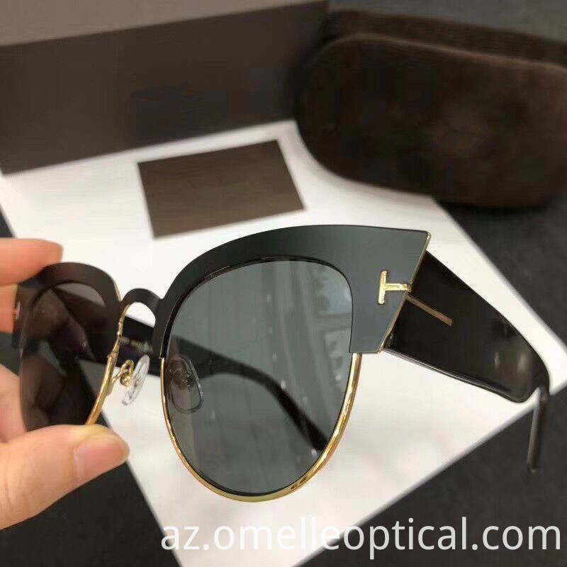 Metal Lens Sunglass