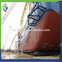 CCS ,BV D=1.2 L=16m ship rubber airbag for boat pontoons