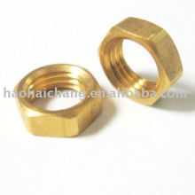 Cutstom Automatic Turned Brass Auto Hex Nut