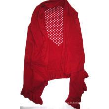 10% cachemire 90% Cape de tricot en laine