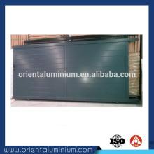 Design de porta de alumínio deslizante manual