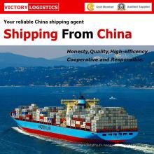 Mer/logistique du fret maritime de la Chine à travers le monde