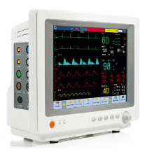 12.1 pulgadas a pantalla táctil Animal veterinario ECG EKG Monitor veterinario con FDA (V-C80)