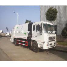 4 * 2 Dongfeng scellé Camion à ordures / Dongfeng compacteur camion à ordures / Dongfeng bin camion à ordures / Dongfeng refuser camion à ordures