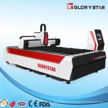 Faser-Metall-Laserschneidemaschinen mit kostenloser Wartung CE-Zertifizierung