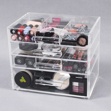 Clear Akryl Beauty Cosmetic Organizer