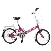 Vélo vélo pliable à cadre de suspension pas cher (FP-FDB-D022)
