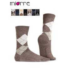 Miorre OEM оптовые мужчины плед хлопок носки