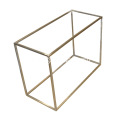 8mm Edelstahl Square Bar Schuhe Display Stand