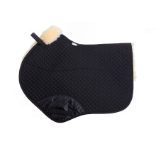 Horse Equestrian Product Sheepskin Saddle Pad for Jumping