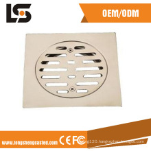 Cast Precision Investment Casting Customized Garage Floor Drain Covers