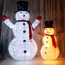 Led Weihnachtsfest Schneemann für Weihnachtsdekoration