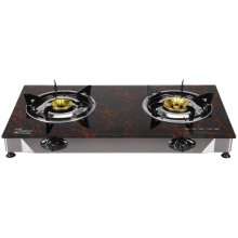 Popular Gas Cooker, Single Burner with Glass Material