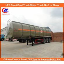 Semi-reboque de tanque de combustível API 40cbm para tanque de transporte diesel de 30 toneladas