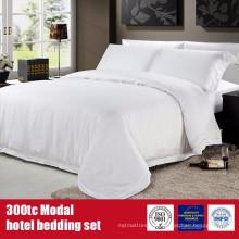 Модальные модальные 300TC отель бренда постельное белье комплект постельных принадлежностей