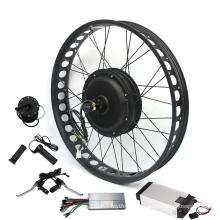 20X3.0 24X3.0 26X3.0inch 48V 1500w Front/Rear Fat Tire Electric Bike Ebike Conversion Kit