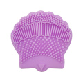 Seashell Shaped Silicone Brush Cleaner