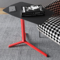 Particle board bed table