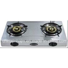 2 Burner Slim Type Stainless Steel 710mm Gas Cooker