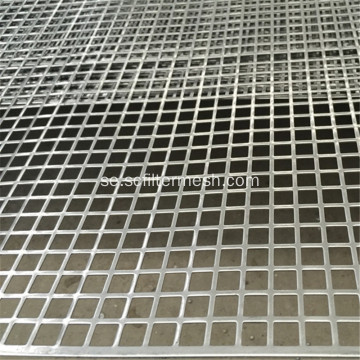 Aluminium Square Hole Perforerad Metal Sheet