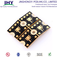 1.6mm Heavy Copper PCB Gold Plated Round PCB