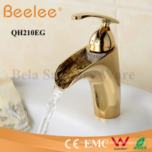 Gold Plated Bathroom Sink Basin Faucet