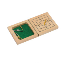 Wooden Maze Game Board Game (CB1171-1)
