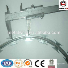 CBT 65 low price electro galvanized razor barbed wire