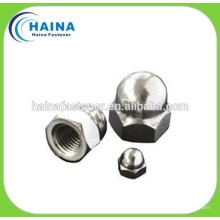 DIN1587 hex nut with cap head