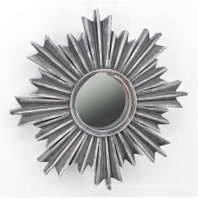 Snowflake Shape Injection Mirror for Wall Deco