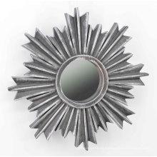Floco de neve Shape Injection Mirror para Wall Deco
