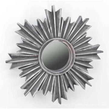Miroir à injection en forme de flocon de neige pour Wall Deco