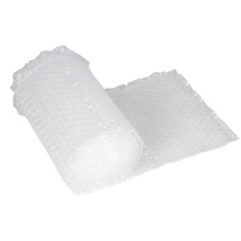 Classic Design Factory Supply Transparent White HDPE Inflatable Packaging Air Cushion Bubble Bag