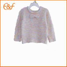 Couper les modèles de tricot bébé fille chandail vêtements pour l'hiver