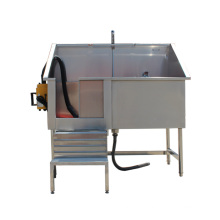 Chinese manufacturer veterinary equipment pet stainless steel pet spa bathtubs supplies dog grooming tub