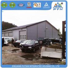 Prefabricated american style steel prefab garage