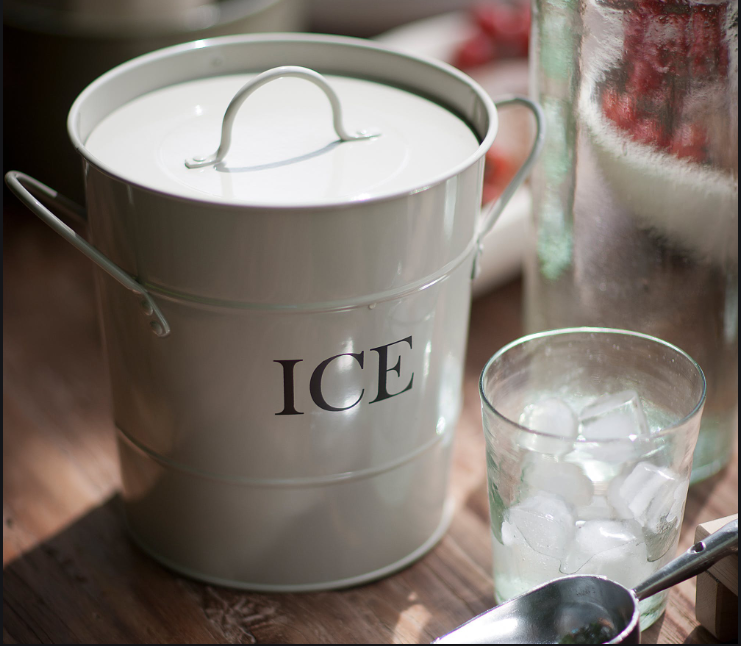 Ice Bucket White